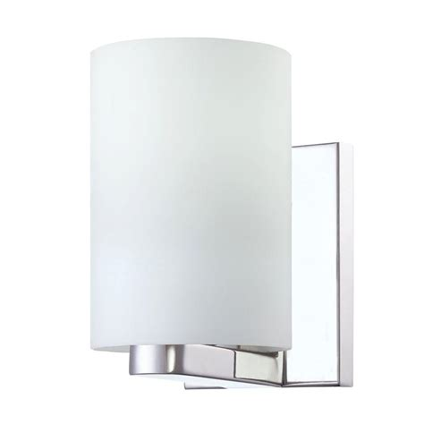 eurofase sicily collection 1 light chrome wall sconce 7242