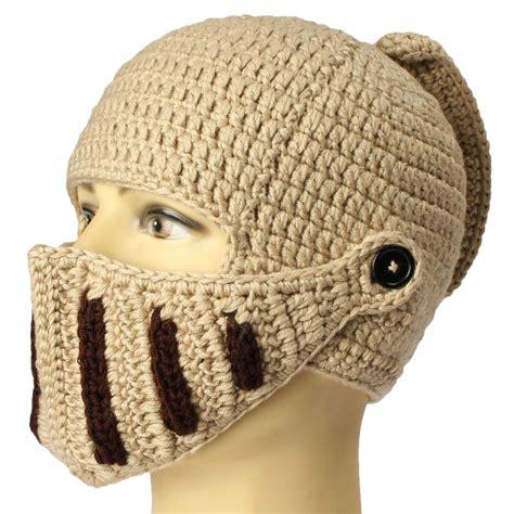 knit mask unisex knit mask beard cap crochet ski mustache