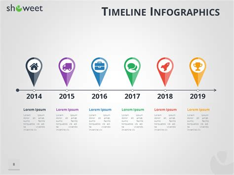 powerpoint templates location timeline infographics templates for powerpoint