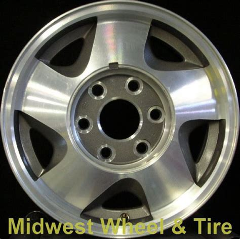 gmc jimmy bolt pattern gmc jimmy 5015mg oem wheel 12360532 oem original alloy
