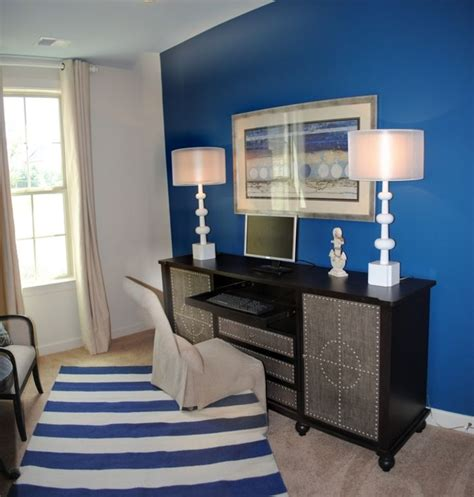 Blue Accent Wall by Pinterest