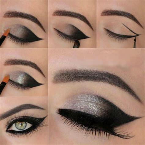 tutorial makeup smokey eyes 12 fantastic winged smokey eye makeup looks pretty designs