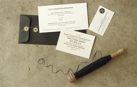 Make Perforated Paper - diy perforated modern save the date