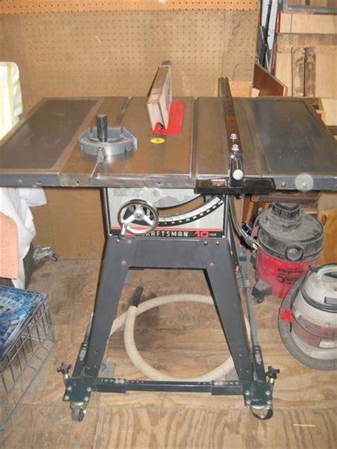 craftsman table saw model 113 photo index sears craftsman 113 298032