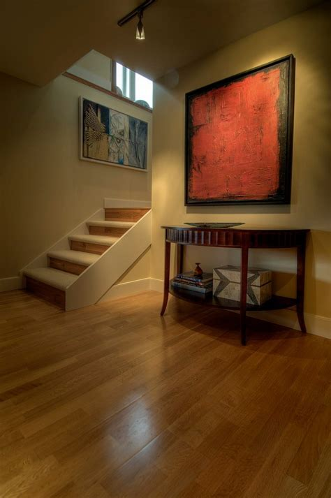 Beautiful carpet stair treads in Staircase Beach Style