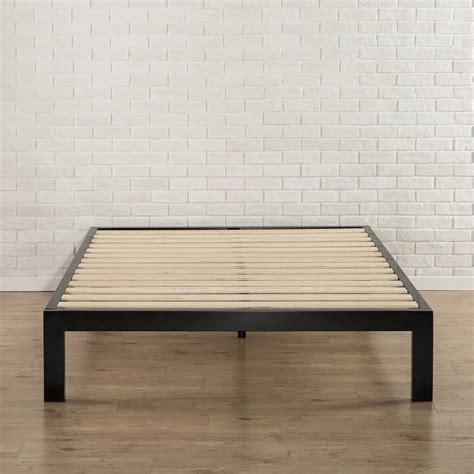 bed frame foundation zinus snap tm 14 inch platform bed frame mattress