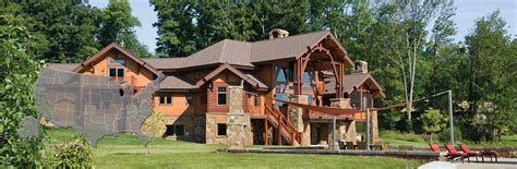 houses in new jersey new jersey log and timber frame homes by precisioncraft