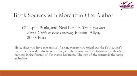 one author mla works cited page