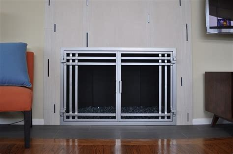 fireplace screens san diego ams fireplace doors remodel ideas contemporary living