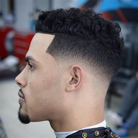 new curly short fades skin fade haircuts