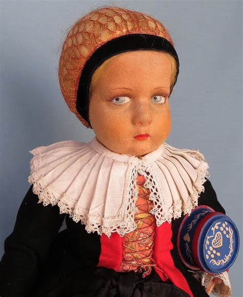 black lenci doll italian felt lenci doll dressed in the regional costume of