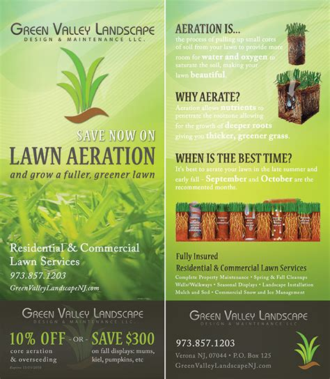 Aeration Flyer Template