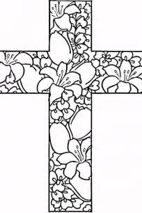 cross coloring pages crosses coloring pages coloring home