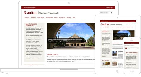 Web Mobile Stanford Identity Toolkit Stanford Ppt Template