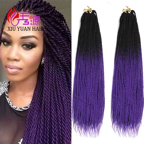 ombre marley hair purple black purple two tone braiding hair ombre color marley