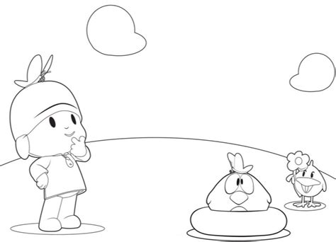 pocoyo coloring pages free printable pocoyo coloring pages for kids