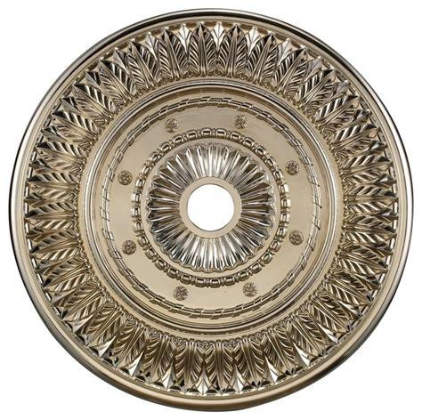 landmark lighting m1013chr ceiling medallion