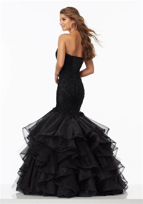 beaded mermaid dress beaded lace mermaid prom dress style 99095 morilee