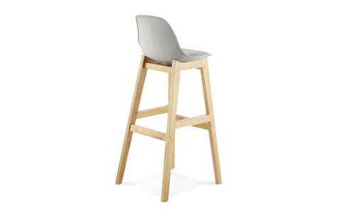 pied bar cuisine chaise bar pied bois cuisine en image