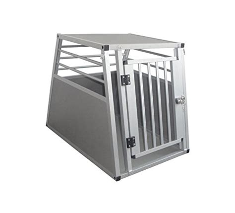 x large crate cool runners pro series secure aluminum pet travel car crate x large k9 crates