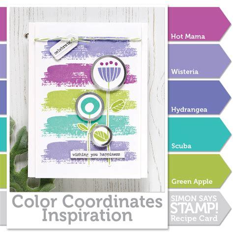 color coordinates color coordinates celebrate simon says st