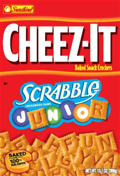 Scrabble Junior Cheez It Purple Pawn