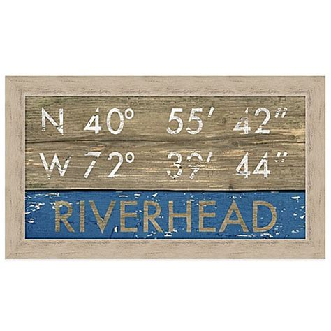 bed bath and beyond riverhead buy riverhead coordinates framed wall art from bed bath
