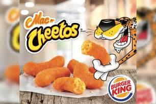 Mac N Cheetos burger king brings back mac n cheetos to menu fortune