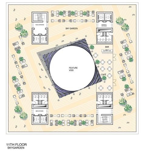 Floor Plan Layout Design Gallery Of Tehran Stock Exchange Competition 2nd Prize