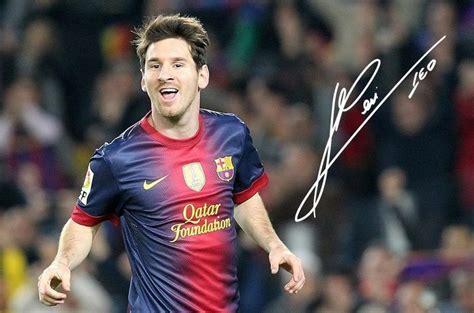 imagenes de lionel messi leo messi autograph 25 20 lionel messi fc barcelona