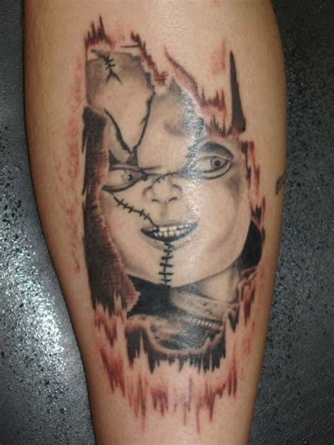 chucky tattoo chucky the killer doll tattoos tatring
