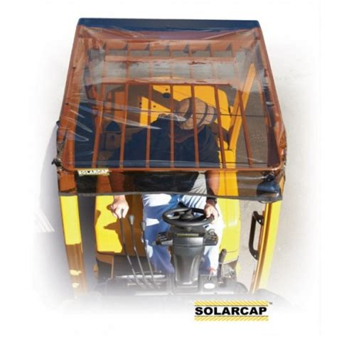Forklift Cover by Solarcap Forklift Canopy Cover