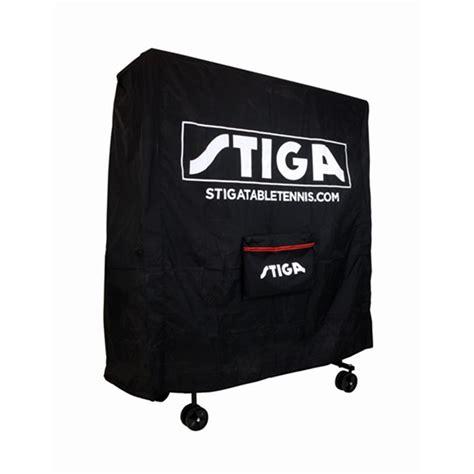 stiga table tennis table cover stiga table cover black racketspesialisten no
