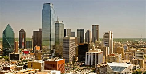 City Of Tx Dallas City Skyline Pic In Usa