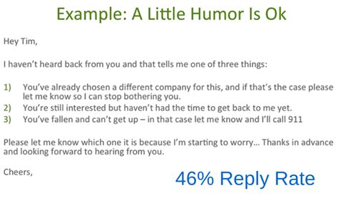 Humorous Speeches Sles sales humor how small jokes a big impact yesware