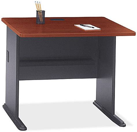bush wc90436a desk 36 quot wide advantage series cherry