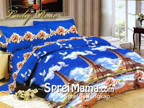 Sprei Eiffel Tower bed cover 3d eiffel tower 180x200 sprei