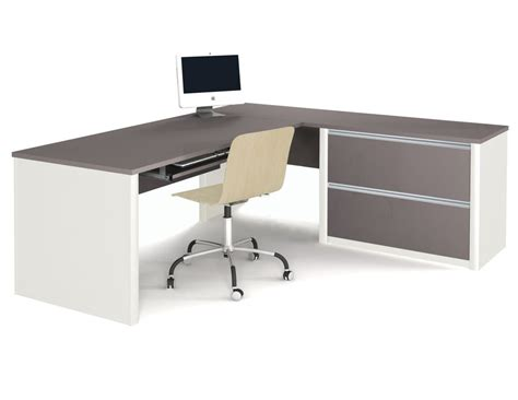 White Computer Desks With Hutch Office Furniture Computer Desk In White