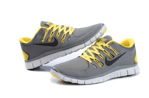 nike running shoes grey and yellow nike free run 5 grey and yellow