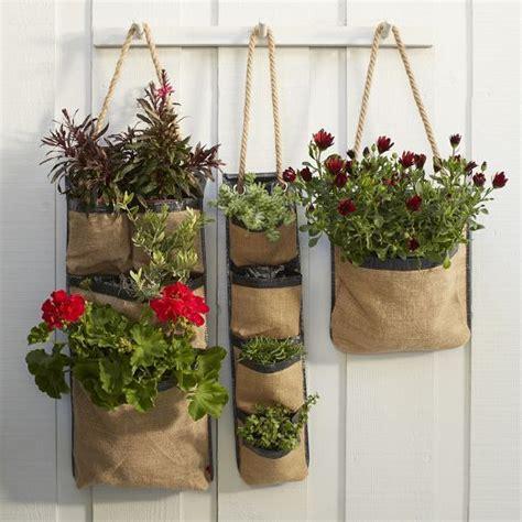 hanging bag planters