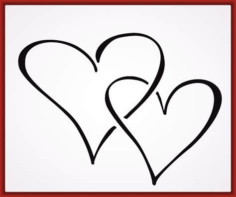 imagenes para dibujar a lapiz faciles de corazones corazones para dibujar a lapiz faciles paso a paso