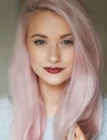 light pink hair color 16 amazing colored hairstyles pretty designs