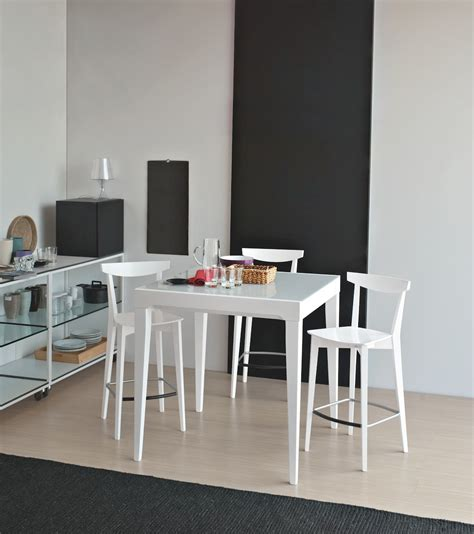 sgabello calligaris sgabello evergreen altezza seduta 65 cm connubia by
