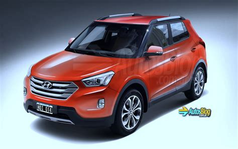 new compact new render pic of india bound hyundai s compact suv