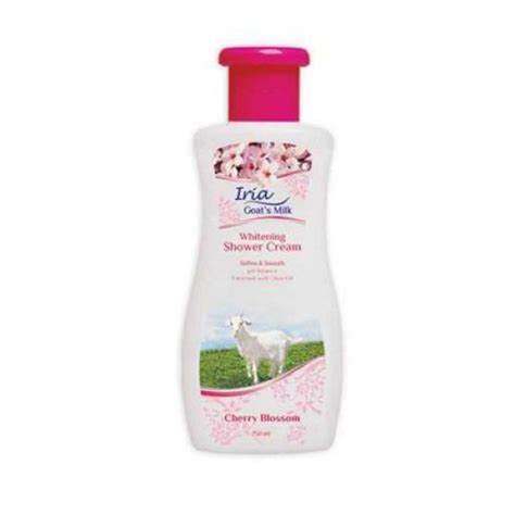 Sabun Iria Goat S Milk iria goat s milk shower 250ml elevenia