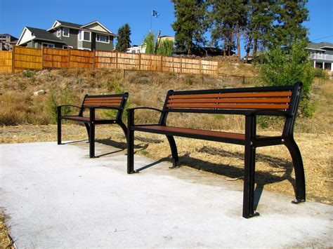 metal park bench beselt park bench all metal wishbone site furnishings