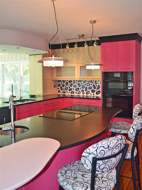 Colorful Kitchen Backsplashes by 30 Colorful Kitchen Design Ideas From Hgtv Kitchen Ideas