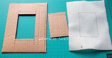 Kertas Scrapbook creativity tutorial membuat pigura foto dari kertas