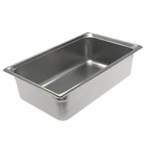 steam table pan size 6 winco spjm 106 size 6 quot stainless steel steam