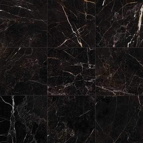 port laurent black marble effect porcelain rf tiles